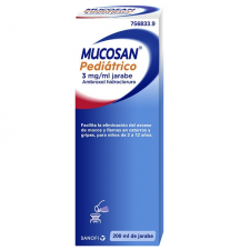 Mucosan Pediátrico 3 mg/ml jarabe Mucosidad