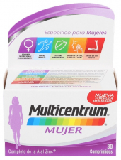 Multicentrum Mujer 30 Comp - Pfizer