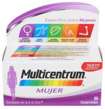 Multicentrum Mujer 90 Comp - Varios