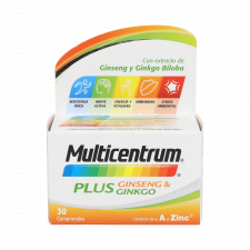 Multicentrum Plus Ginseng&Ginkgo 30 Comp
