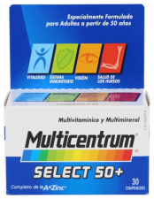 Multicentrum Select 50+ 30 Comp - Pfizer