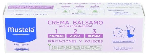 Mustela Crema Balsamo 50 Ml. - Varios
