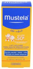 Mustela Leche Solar 50+ 100Ml - Varios