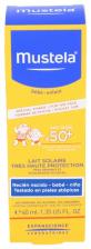 Mustela Leche Solar Muy Alta Protección Spf-50+