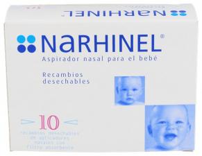 Narhinel Aplicadores Desechables 10 U.