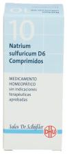 Natrium Sulfuricum Nº10 D6 80 Comprimidos Dhu