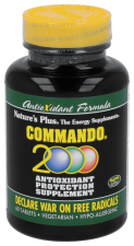 Nature'S Plus Commando 2000 60 Tabletas - Varios