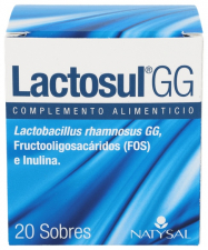 Natysal Lactosul Gg 20 Sobres - Farmacia Ribera