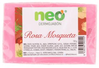 Neo Pastilla Jabon Rosa Mosqueta 100 G - Farmacia Ribera