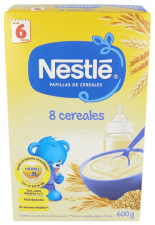 Nestle Papilla 8 Cereales 600 G - Varios