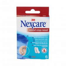 Nexcare Blood Stop Tapon Nasal 6U
