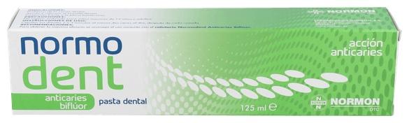 Normodent Anticaries Pasta 125 Ml - Farmacia Ribera