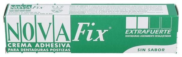 Novafix Extra Fuerte Adhesivo Protesis Dental 45 G - Farmacia Ribera