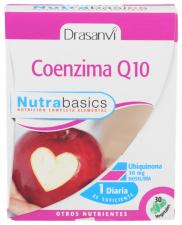 Nutrabasics Coenzima Q10 30Mg. 30Perlas