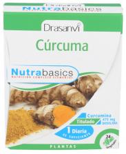 Nutrabasics Curcuma 24 Cap.  - Drasanvi
