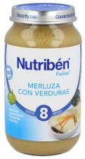 Nutriben 250 Merluza Verduras - Alter Fcia