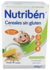 Nutriben Cereales Sin Gluten 600 G - Alter Fcia