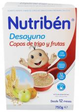 Nutriben Desayuno Copos De Trigo Con Frutas 750 - Alter Fcia