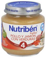 Nutriben Pollo Jamon Verdura Potito Inicio 130 G - Alter Fcia