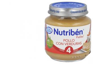 Nutriben Potito De Inicio Pollo Con Verduras 130