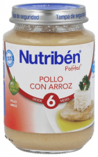 Nutriben Potito Pollo Y Arroz 200 Gr - Alter Fcia