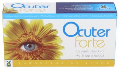 Ocuter Forte 45 Comprimidos Tegor - Tegor