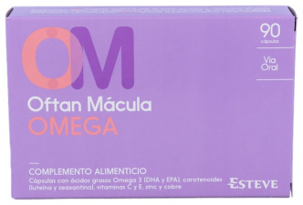 Oftan Macula Omega 90 Caps - Varios