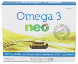 Omega 3 Neo De 596 Mg 30 Cápsulas - Farmacia Ribera