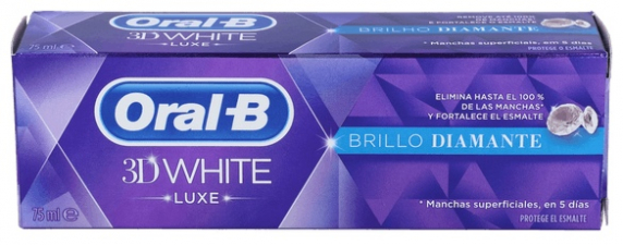 Oral B 3D White Saludable 75 Ml