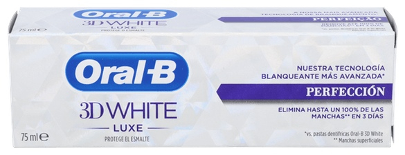 Oral-B Pasta Blanque 3D White Luxe Perfe 75 Ml