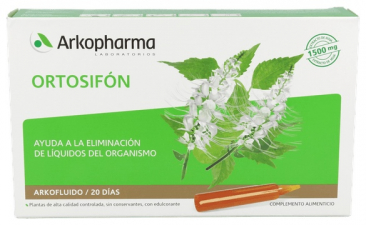 Ortosifon Arkofluido 20 Ampollas