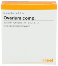 Ovarium compositum 5 ampollas 2,2 ml