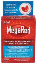 Pack Megared 500 Omega 3 60 Cápsulas
