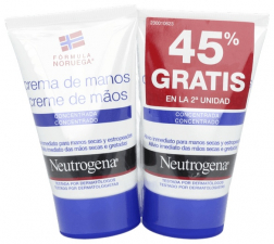 Pack Duplo Neutrogena Crema De Manos Conc. 50Ml