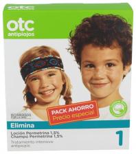 Pack Otc Antipiojos Locion + Champu