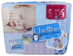 Pañal Infantil Chelino Fashion & Love T- 4 - Varios