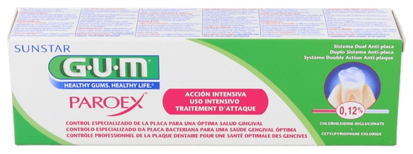 Paroex Gel Dental Clorhexidina 0,12% 75 Ml - Varios