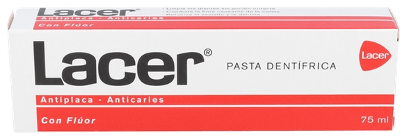 Pasta Dental Lacer 75 Ml.