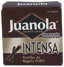 Pastillas Juanola Regaliz Intensa 5,4G