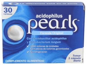 Pearls Acidophilus 30 Cápsulas