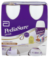 Pediasure Drink Choc 200Ml 1X4 - Varios