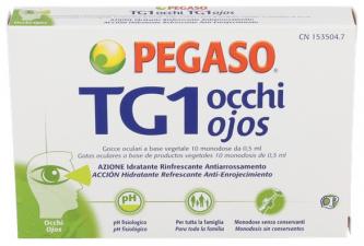 Pegaso Tg1 Ojos Gotas Oftalmicas Esteriles 0 5 Ml 10 U Monodosis - Varios