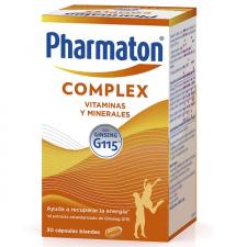 Pharmaton Complex  30 comprimidos recubiertos vitaminas energía ginseng - Sanofi