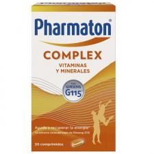 Pharmaton Complex 30 cápsulas vitaminas energía ginseng - Sanofi