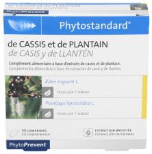 Phytostandard Cassis Y Llanten 30 Comprimidos Pileje