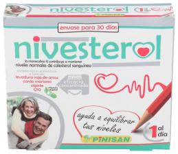 Pinisan Nivesterol, 30 Cápsulas - Farmacia Ribera