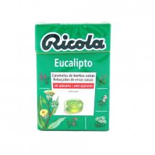 Ricola Caramelos Sin Azúcar Eucalipto 50 gr.
