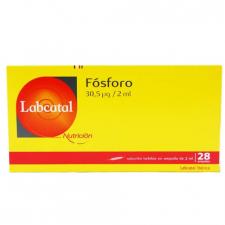 Labcatal 15 Fósforo 28 Ampollas