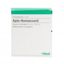 Apis-Homaccord 5 ampollas 1,1 ml
