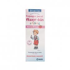 Fluor Kin Enjuague Bucal 500 ml.